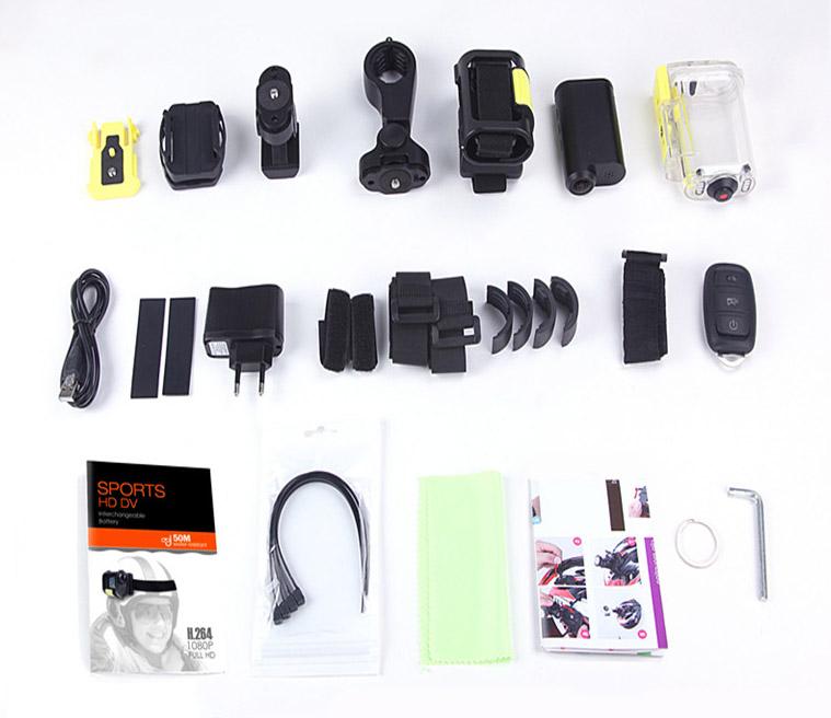 Экшн камера SJ3000 c пультом ДУ SJ3000_8