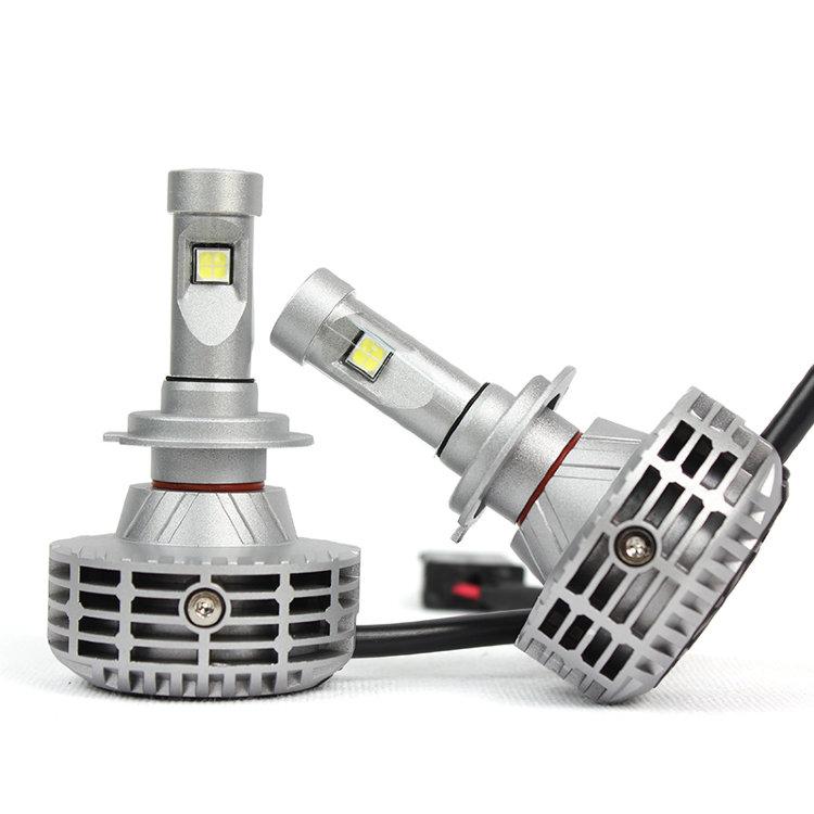 Комплект led ламп головного света interpower h7 g6 z-es