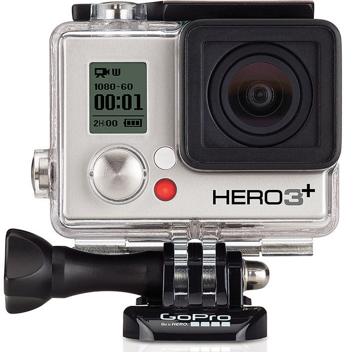 GoPro HERO3+: Silver Edition