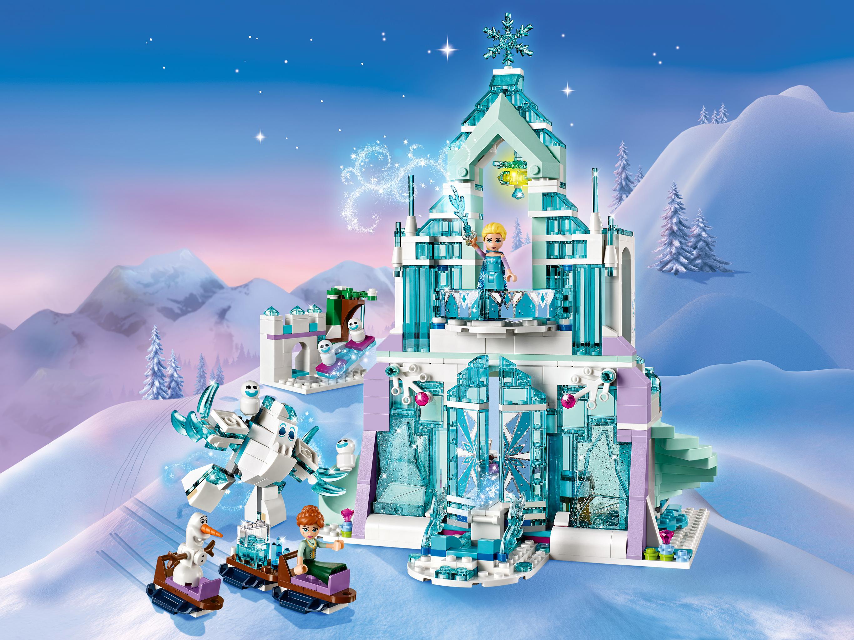 Конструктор Lego Disney Princess: волшебный ледяной замок Эльзы ...