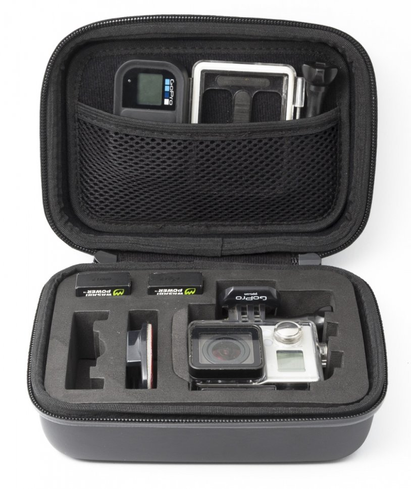 Кейс MSCAM Carbon Fiber Carry Bag for GoPro, Medium (MS-CFCB-M)
