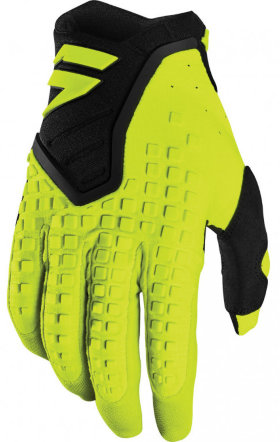 Мотоперчатки Shift 3Lack Pro Glove Flo Yellow