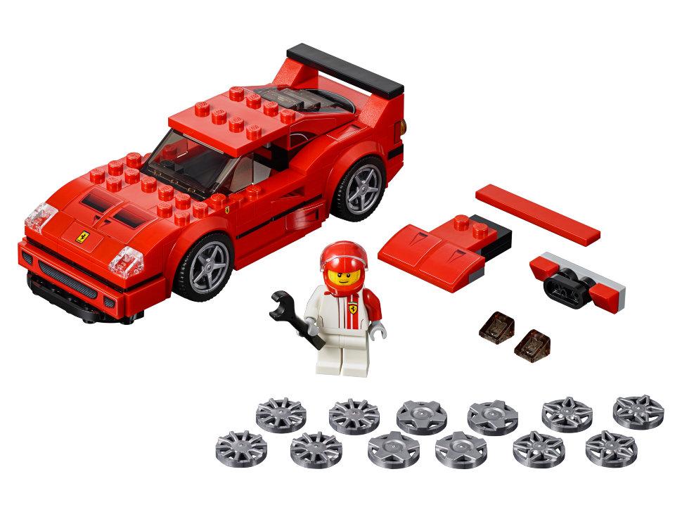 Конструктор Lego Speed Champions: автомобиль Ferrari F40 ...