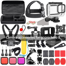 Набор аксессуаров MSCAM All in Accessories Kit for GoPro Hero 8 Black