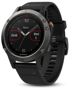 Спортивные часы Garmin Fenix 5 Sapphire Black with Black Band Performer Bundle (010-01688-32)