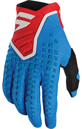 Мотоперчатки Shift 3Lack Pro Glove Blue/Red
