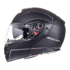 Мотошлем MT Helmets Atom SV Solid Matt Black
