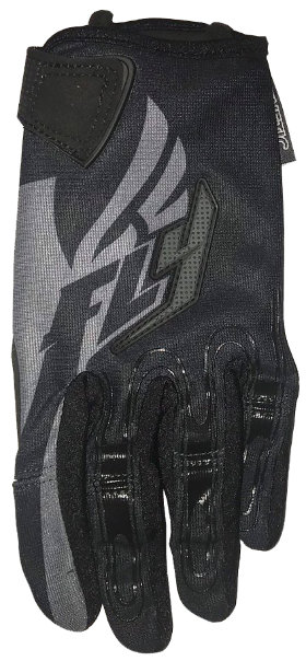 Мотоперчатки FLY Kinetic Glove Black/Gray