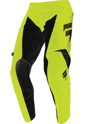 Детские мотоштаны Shift Youth Whit3 Race Pant Flo Yellow