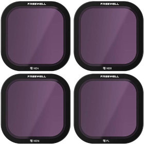 Набор фильтров Freewell Standard Day Filter для GoPro HERO8 Black 4-Pack (FW-H8B-STD)