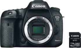 Камера Canon EOS 7D Mark II Body + WiFi адаптер W-E1 (9128B157)