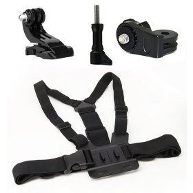 Крепление на грудь MSCAM Chest Mount Harness with J-Hook