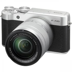 Камера Fujifilm FinePix X-A10 Silver + XC 16-50mm Kit (16534352)