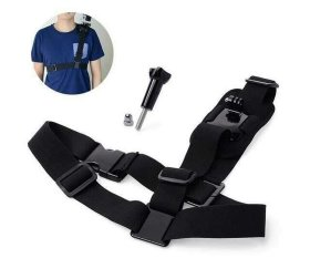 Крепление на плечо SJCAM Shoulder Strap Mount Harness Black For GoPro, SJCAM