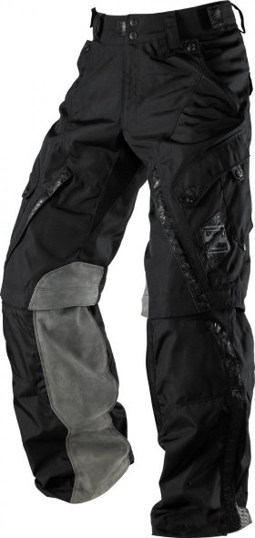 Мотоштаны Shift Squadron Pant Black