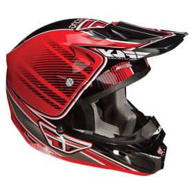 Мотошлем Fly F2 Trey Canard Replica Red