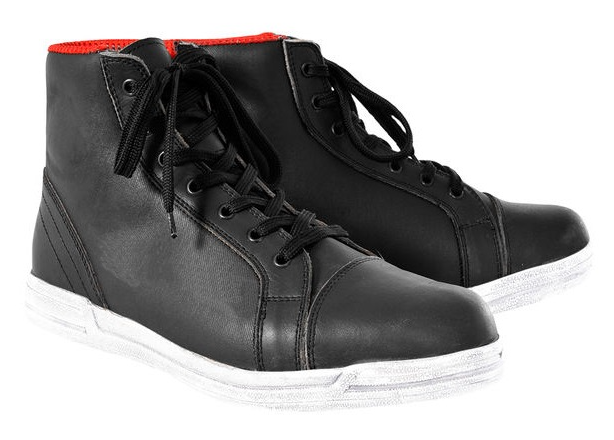 Мотоботинки Oxford Jericho MS W/Proof Boots Black/White