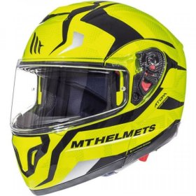 Мотошлем MT Helmets Atom SV Divergence Yellow/Black