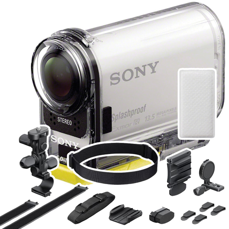 Sony HDR-AS100VB (Bike Mount Kit)