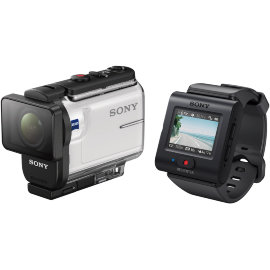 Экшн-камера Sony HDR-AS300R с пультом Д/У RM-LVR3