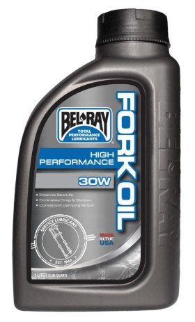Вилочное масло Bel-Ray High Performance Fork Oil 30W 1л