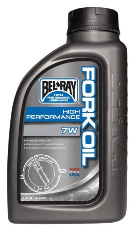 Вилочное масло Bel-Ray High Performance Fork Oil 7W 1л