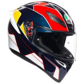 Мотошлем AGV K1 Pitlane Blue/Red/Yellow