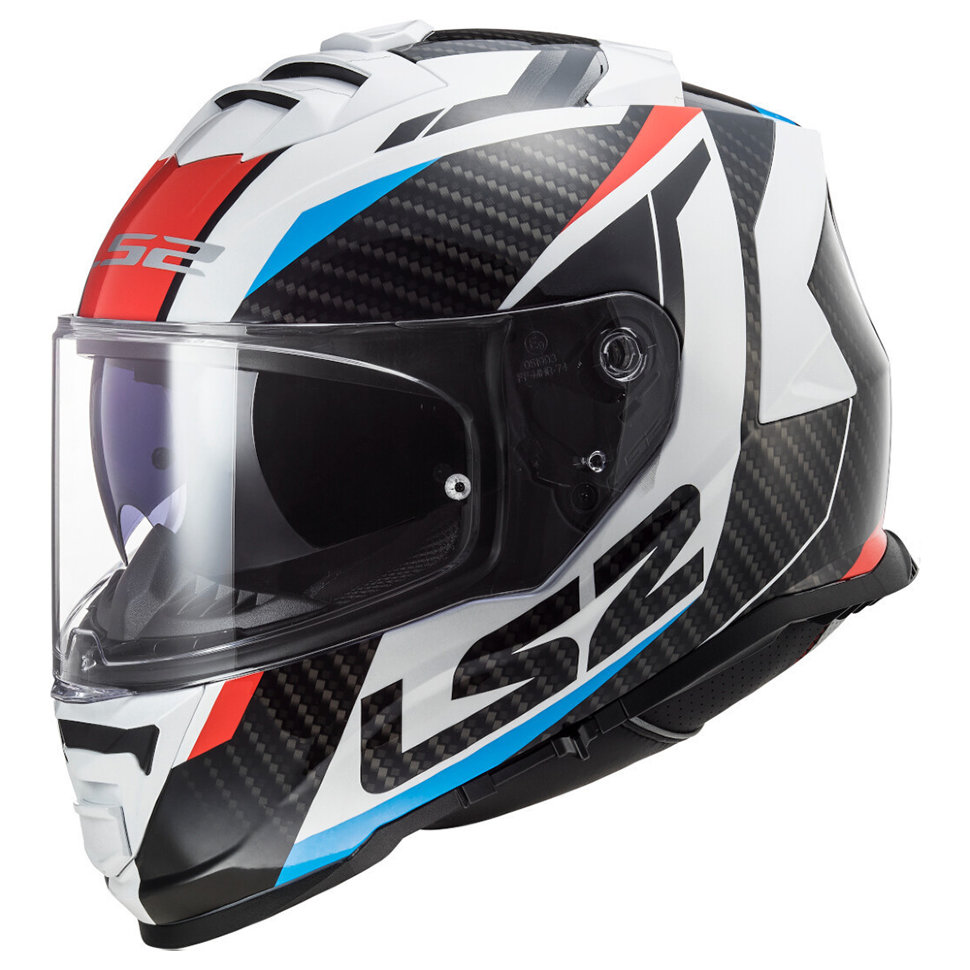 Мотошлем LS2 FF800 Storm Racer Red/Blue