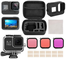 Набор аксессуаров MSCAM Travel Accessories Kit for GoPro Hero 8 Black