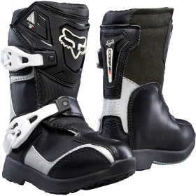 Мотоботы детские FOX Comp 5K Boys Pee Wee MX Black/Silver