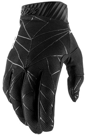 Мотоперчатки Ride 100% Ridefit Glove Black/White