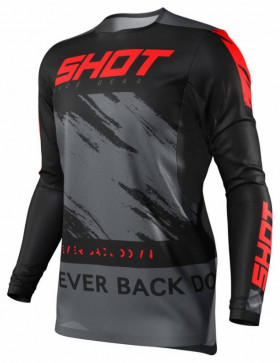 Мотоджерси Shot Racing Contact Draw Red