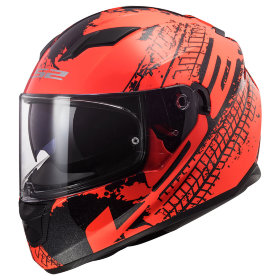 Мотошлем LS2 FF320 Stream Evo Lava Fluo Orange/Black
