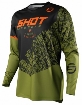 Мотоджерси Shot Racing Devo Storm Khaki