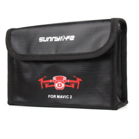 Огнеупорный чехол SunnyLife Battery Explosion-proof Bag for DJI Mavic 2 (M2-DC273)