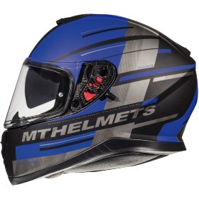 Мотошлем MT Helmets Thunder 3 SV Pitlane Matt Blue/Grey