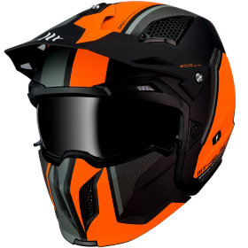 Мотошлем MT Helmets Streetfighter SV Twin Black/Orange