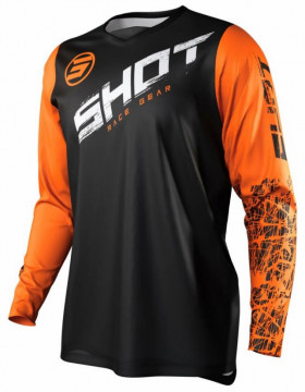 Мотоджерси Shot Racing Slam Line Orange