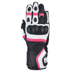 Мотоперчатки кожаные Oxford RP-5 2.0 Women's Glove White/Black/Pink