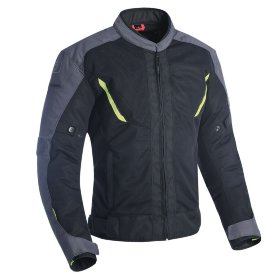 Мотокуртка мужская Oxford Delta 1.0 MS Air Jkt Black/Grey/Fluo