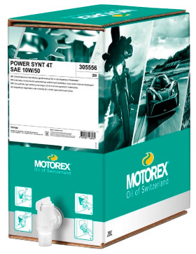 Моторное масло Motorex Power Synt 4T 10W50 (20л)