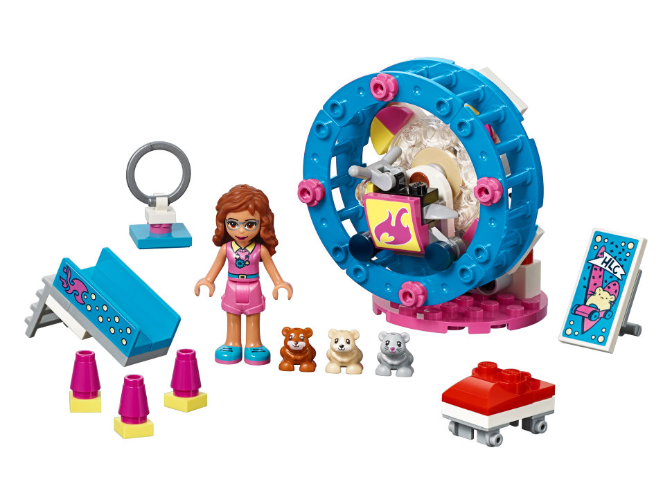 Конструктор Lego Friends: игровая площадка для хомячка Оливии ...