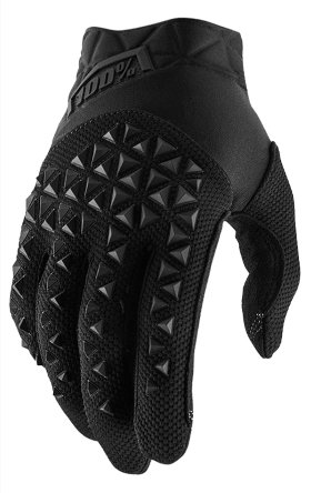 Мотоперчатки Ride 100% Airmatic Glove Black/Charcoal