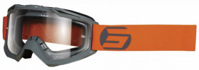 Мото очки Shot Racing Assault Symbol Grey/Orange (00-00250767)