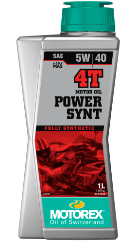 Моторное масло Motorex Power Synt 4T 5W40 (1л)