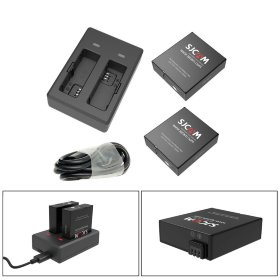 Набор SJCAM Batteries with Dual-slot Charger for SJ9