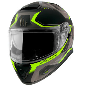 Мотошлем MT Helmets Thunder 3 SV Turbine Grey/Yellow