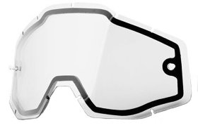 Линза к очкам Ride 100% Racecraft/Accuri/Strata Dual Replacement Lens Clear (51005-010-02)