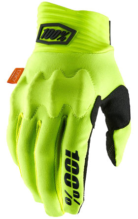 Мотоперчатки Ride 100% Cognito Glove Fluo Yellow
