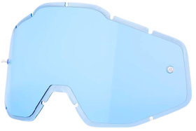 Линза к очкам Ride 100% Racecraft/Accuri/Strata Replacement Lens Anti-Fog Blue (51001-002-02)